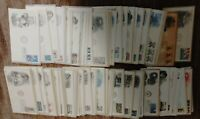 U.S. FDC LOT OF 250 DIFFERENT CACHETED AND UNADDRESSED FROM