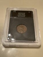 1943 LINCOLN STEEL PENNY IN CASE