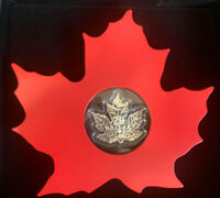 2015 $20 1 OZ FINE SILVER COIN  THE CANADIAN MAPLE LEAF SHAP