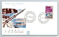 FRANCE 1967   TAAF   FIRST SHOT OF PROBE FUSES FDC   F7003