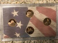 2009 S LINCOLN PENNY SET. GEM PROOF 4 COIN SET FROM US MINT