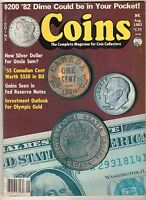 COINS MAGAZINE - AUGUST, 1983 / OLYMPIC GOLD, ANACS, FEDERAL RESERVE NOTES