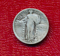 1929 S STANDING LIBERTY SILVER QUARTER  CIRCULATED