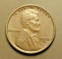 1930 D  LINCOLN WHEAT PENNY HIGHER GRADE W1676