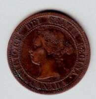 C8920    CANADA  LARGE CENT  COIN   1876   H