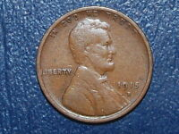 1915 D LINCOLN WHEAT PENNY   J702