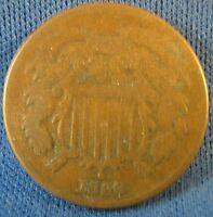 1869 II CENT PIECE- GOOD