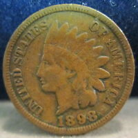 1898 INDIAN HEAD CENT VG              S 152