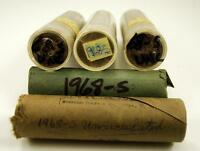 1 ROLL OF UNCIRCULATED 1968 S JEFFERSON NICKELS
