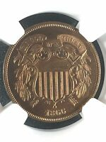 1866 TWO CENTS NGC PF66RD              4230253-003