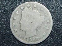 1883 LIBERTY NICKEL WITH CENTS   365