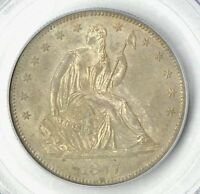 1877 S   LIBERTY SEATED HALF   PCGS MS 64   STUNNING COIN    $1,488.88