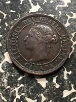1888 CANADA LARGE CENT LOT0754 NICE