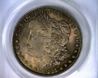1885 ANACS AU58 HOT 50 VAM 1B MORGAN SILVER DOLLAR UNITED STATES COIN