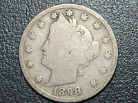 1898 5C LIBERTY NICKEL   514