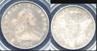 1801 50C VF20 PCGS - ONLY 137 IN HIGHER GRADE - DRAPED BUST HALF DOLLAR