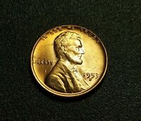 1953 D LINCOLN WHEAT CENT W18164
