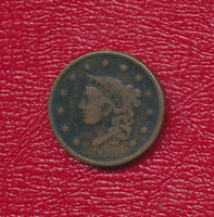 1836 CORONET HEAD LARGE CENT VERY NICE CIRCULATED LARGE CENT