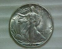 1943-D WALKING LIBERTY HALF DOLLAR CHOICE ABOUT UNCIRCULATED AU LUSTROUS