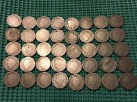 COMPLETE ROLL OF 40 1903 LIBERTY NICKELS  NO RESTORED DATES