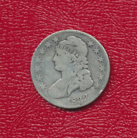 1833 CAPPED BUST SILVER HALF DOLLAR A NICE CIRCULATED HALF DOLLAR FREE SHIP