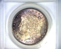 MINT STATE 63 ANACS BEAUTIFULLY TONED 1979S MORGAN SILVER DOLLAR U.S. COIN 1879 S