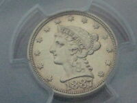 1887 QUARTER EAGLE GOLD LIBERTY HEAD $2.50 COIN  LY  PCGS