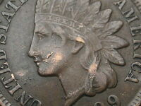 1899 INDIAN HEAD CENT PENNY XF DETAILS LIBERTY DIAMONDS