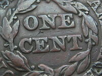 1846 BRAIDED HAIR LARGE CENT SMALL DATE FINE/VF DETAILS