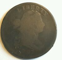 1797 DRAPED BUST LARGE CENT