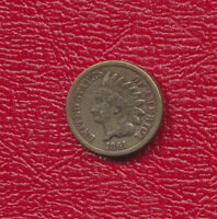 1861 INDIAN HEAD CENT  SEMI KEY DATE NICE CIRCULATED CENT