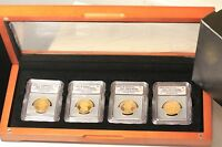 ICG PR70 DCAM 2007 PRESIDENTIAL DOLLAR COIN COLLECTION BU UNC PROOF DISPLAY F21