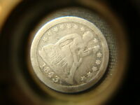 1843 O VF XF DETAILS SEATED LIBERTY DIME NICE DEVICES  LV