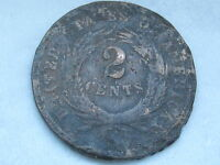 1865 TWO 2 CENT PIECE  CIVIL WAR TYPE COIN
