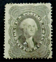 NYSTAMPS US STAMP  37 MINT WITH GUM H $1400