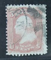 CKSTAMPS: US STAMPS COLLECTION SCOTT85 3C WASHINGTON USED CV$1050
