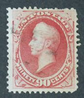 CKSTAMPS: US STAMPS COLLECTION SCOTT166 90C PERRY USED THIN CV$300