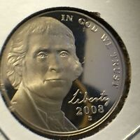 2008 S 5C DC PROOF JEFFERSON NICKEL