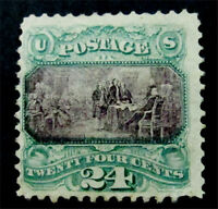 NYSTAMPS US STAMP  120 MINT WITH GUM H $8000
