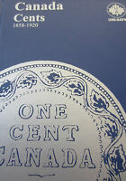 SET OF CANADA LARGE CENTS COIN   1859   1920    UNI SAFE BLUE BOOK