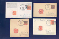 PKSTAMPS - 1 START - 3217 - LOT OF 48 MIXED NAVAL CANCELS - ON CARDS