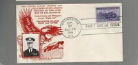 US FIRST DAY COVER FDC  925 PHILIPPINES  1944 BY CROSBY GENERAL WAINWRIGHT