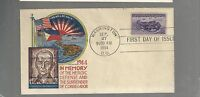 US FIRST DAY COVER FDC  925 PHILIPPINES  1944 BY STAEHLE GENERAL WAINWRIGHT