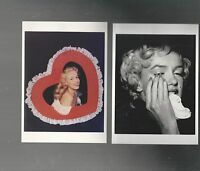 US FIRST DAY COVER  FDC   2967 MARILYN MONROE 1995   LOT OF 4 POSTCARDS
