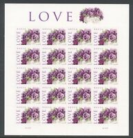 4450 LOVE 44C MINT SUPERB-NH SHEET