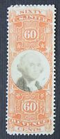 CKSTAMPS: US REVENUES STAMPS COLLECTION SCOTTR142 USED THIN