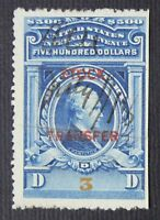 CKSTAMPS: US REVENUES STAMPS COLLECTION SCOTTRD23 USED CUT CANCEL