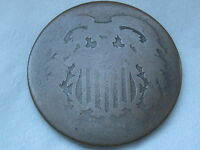 1864-1872 TWO 2 CENT PIECE- CIVIL WAR TYPE COIN, LOWBALL