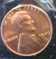 1949 LINCOLN WHEAT CENT   GEM   B212 4