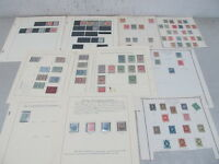 NYSTAMPS G MANY MINT OLD US BOB REVENUE TELEGRAPH STAMP COLLECTION ALBUM PAGE